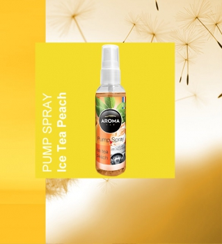 Aroma Auto Lufterfrischer Duftspray 75ml Ice Tea Peach