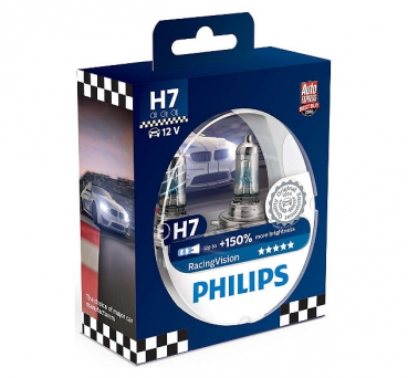 Philips H7 RacingVision +150% 12972RVS2 (2Stk.)