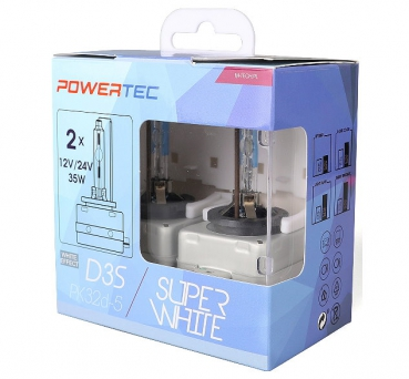PowerTec D3S SuperWhite Effect Xenon Brenner Duobox