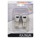 Powertec P21W Halogen Chrome Blinker Birne (2Stk.)