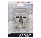 Powertec PY21W Halogen Chrome Blinker Birne (2Stk.)